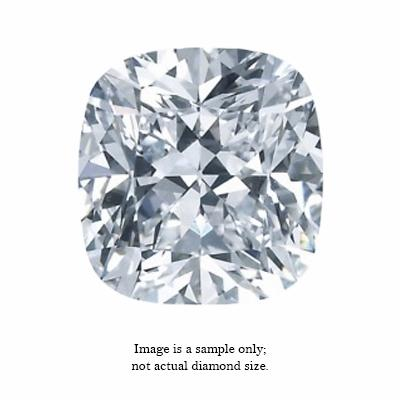 0.46 Carat Cushion Cut Diamond