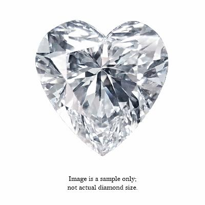 0.51 Carat Heart Cut Diamond