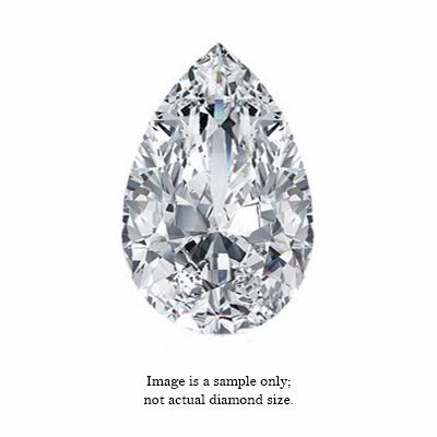 0.29 Carat Pear Cut Diamond
