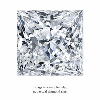0.24 Carat Princess Cut Diamond