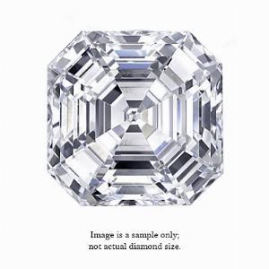 0.31 Carat Asscher Cut Diamond