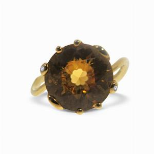 Dior 'Oui' Citrine Ring