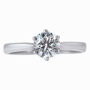 Claw Set Brilliant Cut Diamond Solitaire - 1 ct HSI1