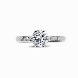 Vintage Brilliant Cut Engagement Ring 0.97ct