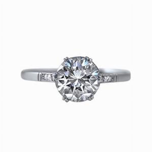 Brilliant Cut Diamond Solitaire Ring - 1.41ct ISI1