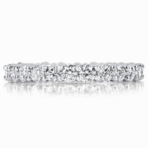 LUCCA Claw Set Brilliant Cut Full Eternity Rings