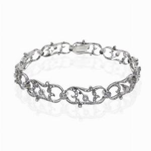 Edwardian Old Cut Diamond Bracelet