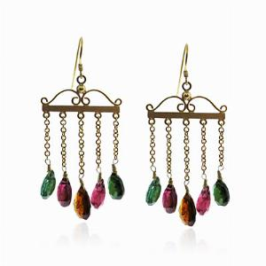 Tourmaline Drop Earrings