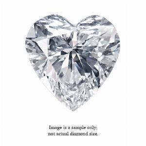 0.32 Carat Heart Cut Diamond