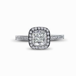 Cushion Cut Engagement Ring 1.26ct