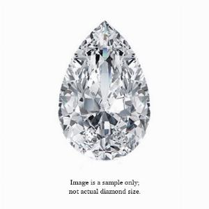 0.28 Carat Pear Cut Diamond
