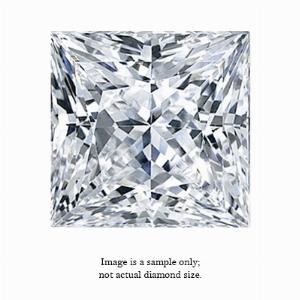 0.29 Carat Princess Cut Diamond
