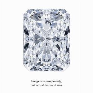 0.18 Carat Radiant Cut Diamond
