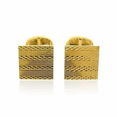 Gold Cuff Links By Chaumet