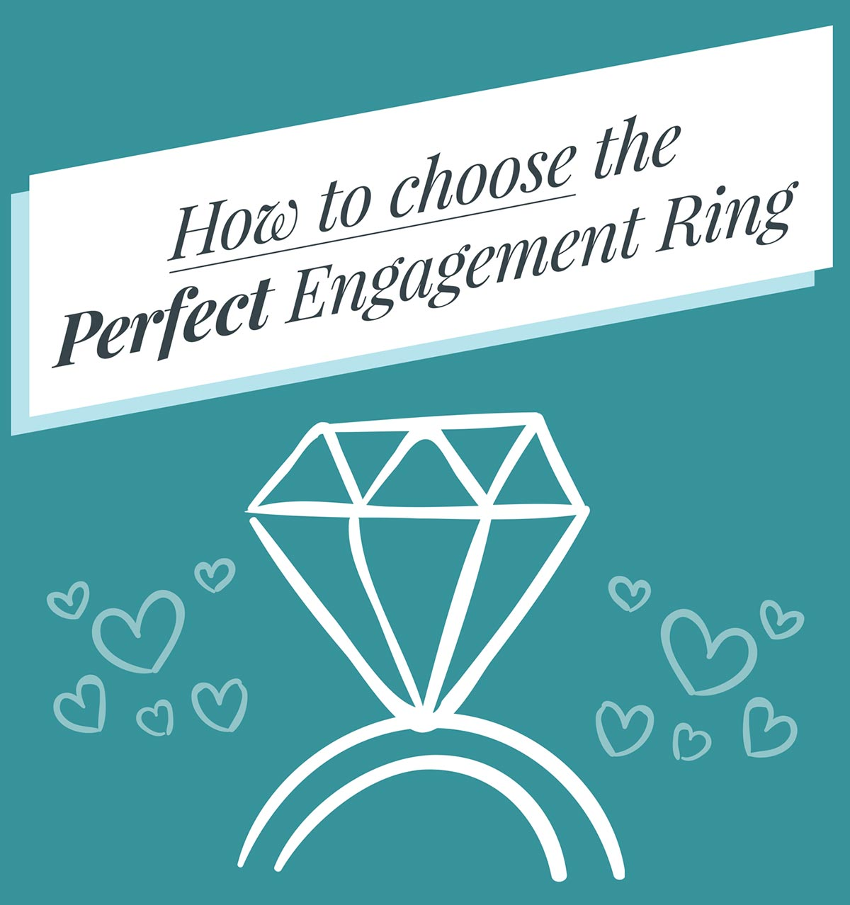 [Infographic] How To Choose The Perfect Engagement Ring
