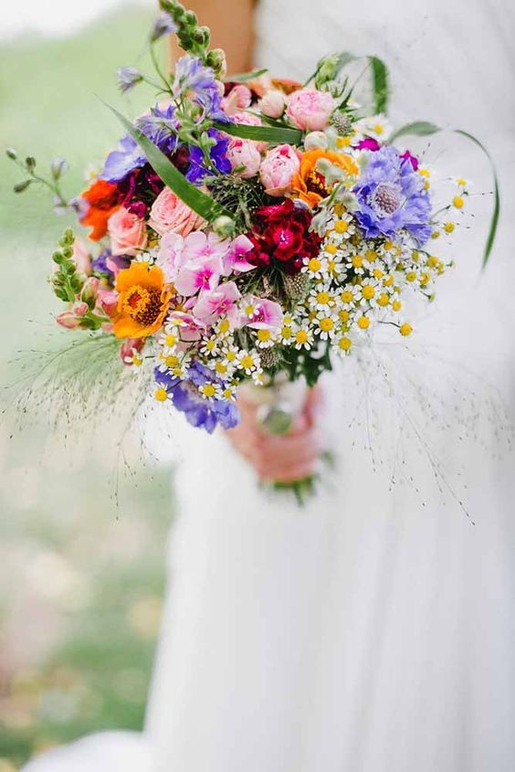 Top tips for choosing the Perfect Wedding Bouquet