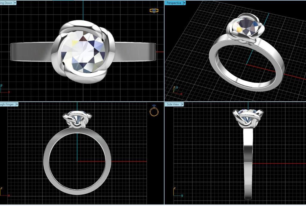 Innovative Jewellery Design Using CAD
