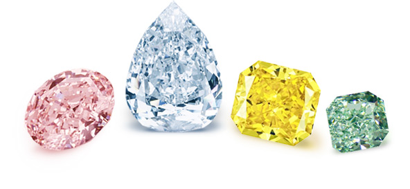 The Resurgence of Coloured Diamonds