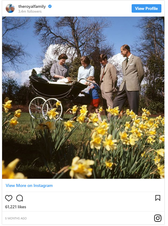 7 reasons to follow the Royal Family on Instagram