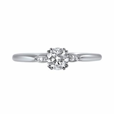 Vintage Diamond Solitaire Ring - 0.35ct
