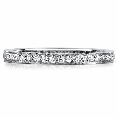 PERUGIA Grain Set Brilliant Cut Full Eternity Rings