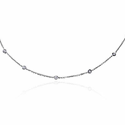 Rubover Diamond Necklace