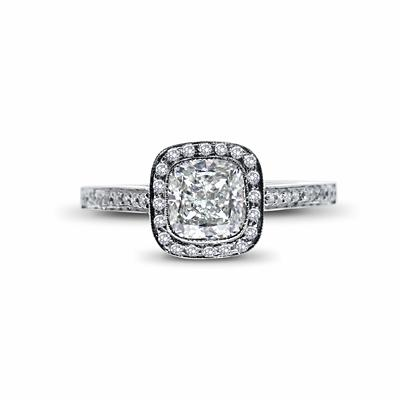 Cushion Cut Engagement Ring 1.26ct