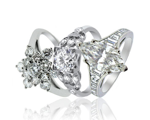 Diamond Dress Rings