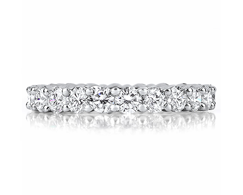 Full Diamond Wedding Rings