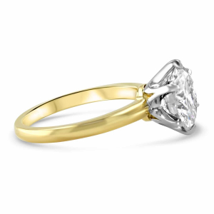 18ct Yellow Gold 2.50ct Diamond Solitaire Engagement Ring