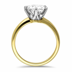 18ct Yellow Gold 2.40ct Diamond Solitaire Engagement Ring