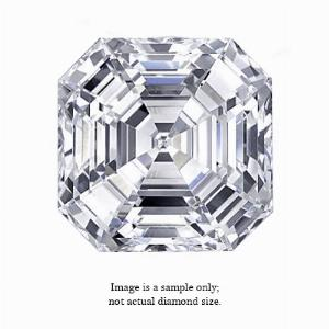 0.31 Carat Asscher Cut Diamond