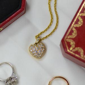 Pre-Owned Cartier 2.15ct Diamond Heart Pendant