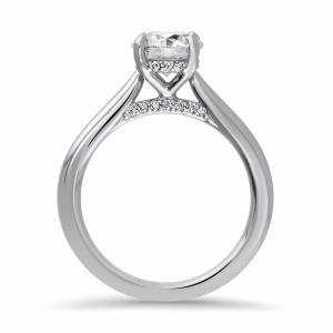 Pre-Owned Platinum 1.03ct Brilliant Cut Diamond Solitaire Engagement Ring