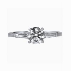 Brilliant Cut Engagement Ring 0.80ct approx. I VS1