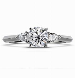 ALICE Multi Option Engagement Ring With Pear Shape Shoulders