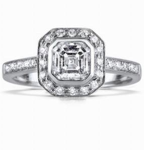 AURORA Multi Option Deco-Style Cluster Ring