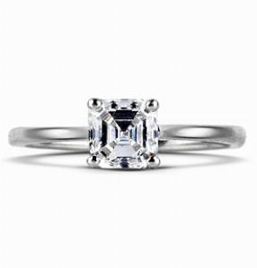 IMOGEN Contemporary Asscher Cut