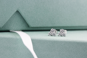 18ct White Gold 0.50ct Diamond Trefoil Earrings