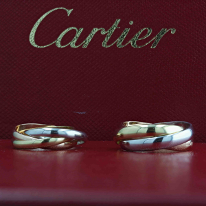Pre-Owned Cartier Trinity Ring - Small