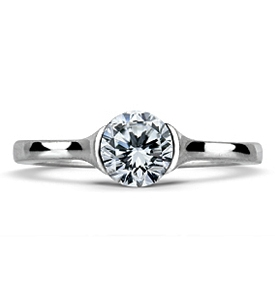 KIMBERLEY Classic Brilliant Solitaire Engagement Ring